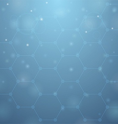 Blue hive background vector