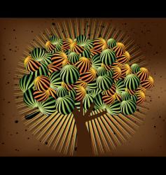 Tree life vector