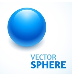 Sphere abstract with text vector