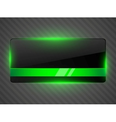 abstract black background with light vector image