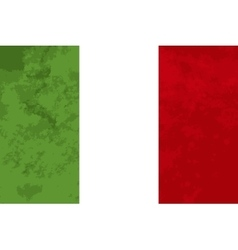 True proportions italy flag with texture vector