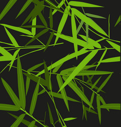 bamboo leaf pattern vector image