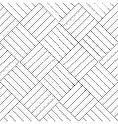 Black and white simple wooden floor parquet vector image