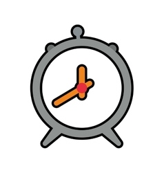 Clock wake up circle time traditional icon vector