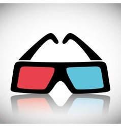 Cinema design movie concept flat vector