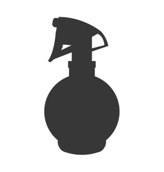 Bottle splash icon hair salon and barber shop vector