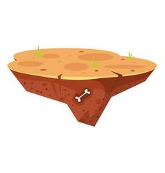 Game desert island vector