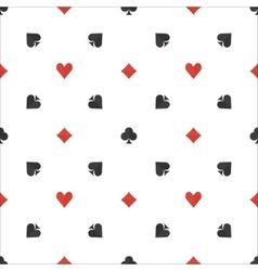 Poker flat simple pattern vector