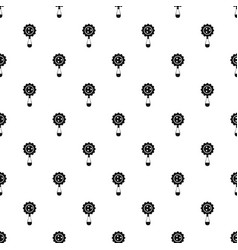 Rattle baby toy pattern vector
