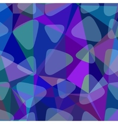 Shades of blue abstract square background vector image