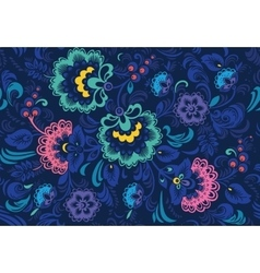 Traditional russian seamless pattern in vector