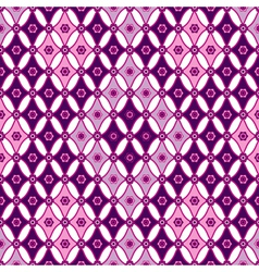 Pink-violet seamless pattern vector image