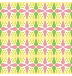Early spring pattern vector