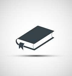 Icon of the book vector