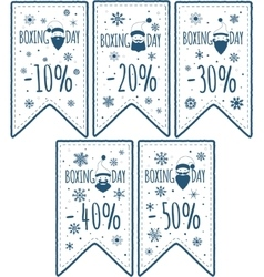 Price tags set vector