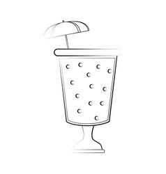 fruit juice beverage icon image vector image vector image