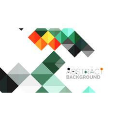 modern geometric presentation background vector image vector image