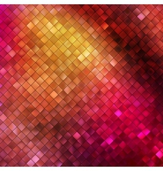 Pink glitters on a soft blurred background EPS 10 vector image