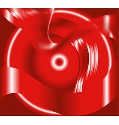 Circle wave effect light red background vector