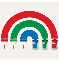 paint vector image