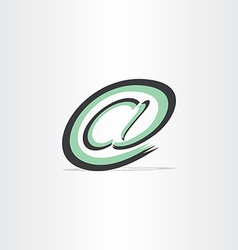 E mail internet stylized symbol vector