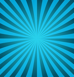 Cyan ray burst design background vector