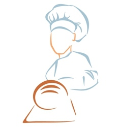 Bakery symbol vector