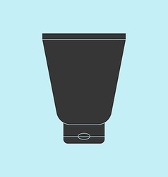 Cream Tube Icon vector image vector image