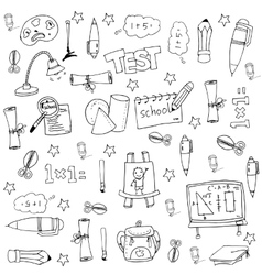 Element education big doodle set vector