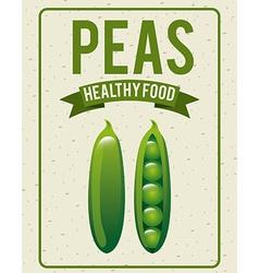 Organic healthy food design vector