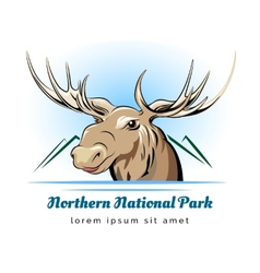 Park logo vector image vector image