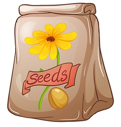A pack of sunflower seeds vector