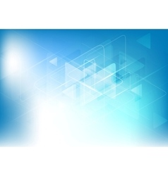 Blue white abstract technology background vector
