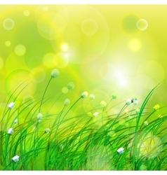 Green beams background vector