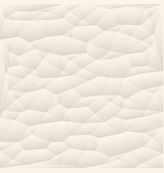 Beige polygon abstract triangulated background vector