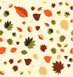 Colorful leaf background eps10 vector