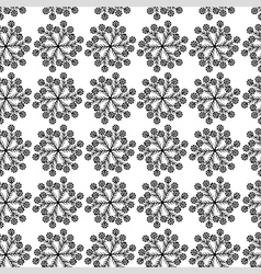 Flower cornflower pattern vector