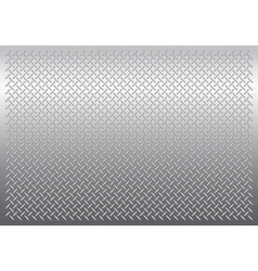 Gray metal background vector image