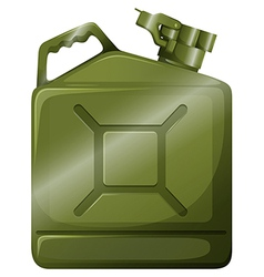 An oil container vector