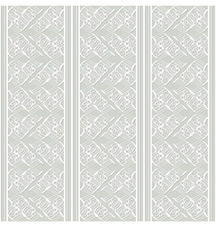 grey seamless lacy pattern vector image