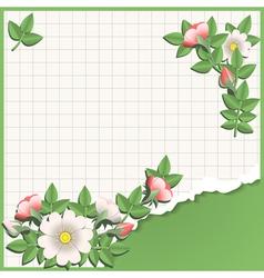 origami school vector image