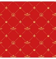 Antique royal background pattern vector image vector image