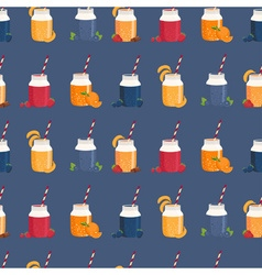 Blue smoothie patterned background vector