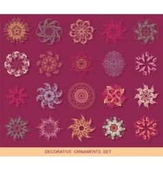 Graphic design elements set vector