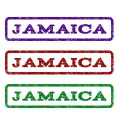 Jamaica watermark stamp vector