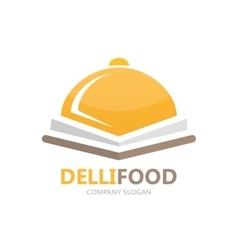 kitchen logo concept vector image