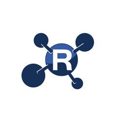 Synergy logo initial r vector
