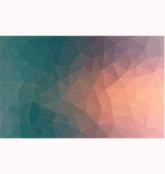 Vintage color geometric triangle wallpaper vector