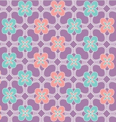 Java floral pattern vector