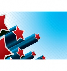 star burst american vector image vector image